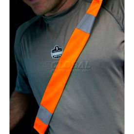 29041 Ergodyne; GloWear; Seat Belt Cover, One Size, Orange, 29041