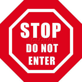"durastripe 12"" octagone sign - stop do not enter Durastripe 12"" Octagone Sign - Stop Do Not Enter"