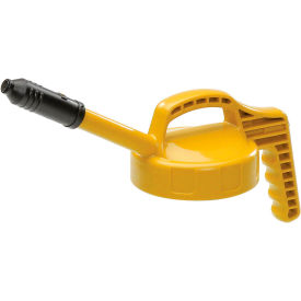 100309 Oil Safe Stretch Spout Lid, Yellow, 100309