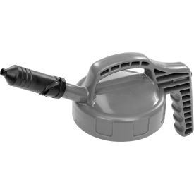 oil safe mini spout lid, grey, 100404 Oil Safe Mini Spout Lid, Grey, 100404