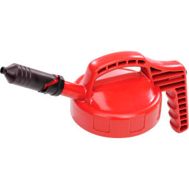 oil safe mini spout lid, red, 100408 Oil Safe Mini Spout Lid, Red, 100408
