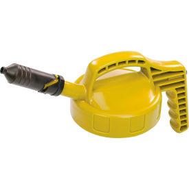oil safe mini spout lid, yellow, 100409 Oil Safe Mini Spout Lid, Yellow, 100409