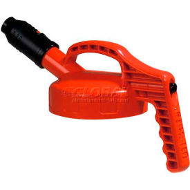 oil safe stumpy pour spout lid, orange, 100506 Oil Safe Stumpy Pour Spout Lid, Orange, 100506
