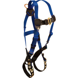 7016 FallTech; 7016 Contractor 1-D Full Body Harness, 1 Back D-ring, Size UniFit