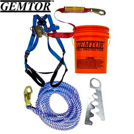 gemtor vp801-2. roof kit - single use anchor - 40 rope Gemtor VP801-2. Roof Kit - Single Use Anchor - 40 Rope