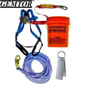 gemtor vp811-2, roof kit - reusable anchor - 40 rope Gemtor VP811-2, Roof Kit - Reusable Anchor - 40 Rope
