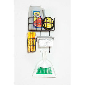 hd sales ab-w32 wall mount spill station, wire rack with hooks HD Sales AB-W32 Wall Mount Spill Station, Wire Rack With Hooks