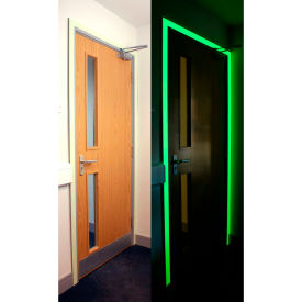"heskins photoluminescent egress tape, glow in the dark, 2"" x 30 Heskins Photoluminescent Egress Tape, Glow In The Dark, 2"" x 30"