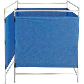 "dqe® privacy cube, four 70""h x 65""w pvc frames DQE® Privacy Cube, Four 70""H x 65""W PVC Frames"