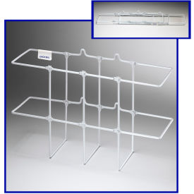 "3003** Horizon Mfg. White Binder Rack, 3003, 13-1/4""L X 5""W X 8-3/4""H"
