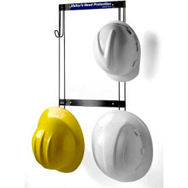 "5004 Horizon Mfg. Hard Hat and Coat Rack, 5004, 14-1/4""L X 2""W X 23""H"