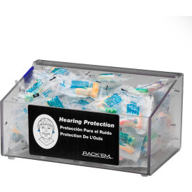 "horizon mfg. clear acrylic foam ear plug dispenser with no lid, 5137, 9""l Horizon Mfg. Clear Acrylic Foam Ear Plug Dispenser With No Lid, 5137, 9""L"