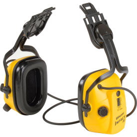 howard leight™ 1010632 impact® hard hat mounted ear muffs, yellow, nrr 21 db Howard Leight™ 1010632 Impact® Hard Hat Mounted Ear Muffs, Yellow, NRR 21 dB