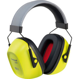 honeywell verishield™ 1035110-vs 100 passive earmuffs, over the head, hi-viz yellow, nrr 30 Honeywell VeriShield™ 1035110-VS 100 Passive Earmuffs, Over The Head, Hi-Viz Yellow, NRR 30