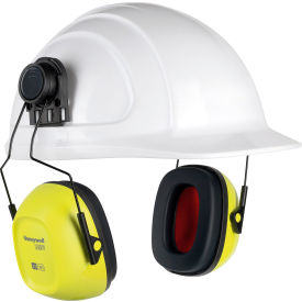 honeywell verishield™ hard hat mounted ear muff, 27 db, hi visibility Honeywell Verishield™ Hard Hat Mounted Ear Muff, 27 dB, Hi Visibility