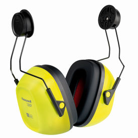 honeywell verishield™ hard hat mounted ear muff, dieletric, 23 db, black/yellow Honeywell Verishield™ Hard Hat Mounted Ear Muff, Dieletric, 23 dB, Black/Yellow