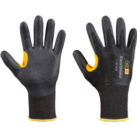 CoreShield® 22-7513B/6XS Cut Resistant Gloves, Nitrile Micro-Foam Coating, A2/B, Size 6