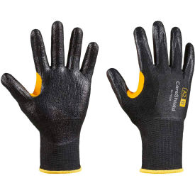 CoreShield® 22-7913B/9L Cut Resistant Gloves, Smooth Nitrile Coating, A2/B, Size 9