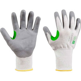 CoreShield® 24-0513W/6XS Cut Resistant Gloves, Nitrile Micro-Foam Coating, A4/D, Size 6