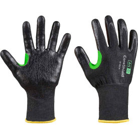 CoreShield® 24-0913B/6XS Cut Resistant Gloves, Smooth Nitrile Coating, A4/D, Size 6