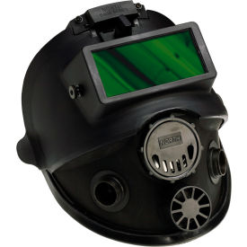 honeywell north® 7600 silicone welding full facepiece respirator w/5 pt headstrap, size s