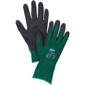 NF35/8M North; Flex Oil Grip; Nitrile Coated Gloves, North Safety NF35/8M, Green, 1 Pair