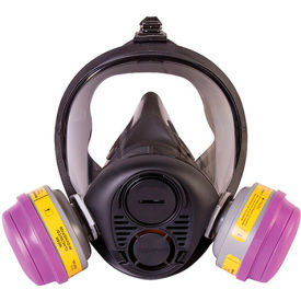 north® ru6500 silicone full facepiece respirator, large, ru65001l North® RU6500 Silicone Full Facepiece Respirator, Large, RU65001L