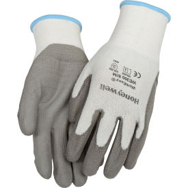 WE300-S Honeywell WorkEasy; WE300S Cut-Resistant  HPPE Fiber Glove, Gray Shell & PU Palm, Small