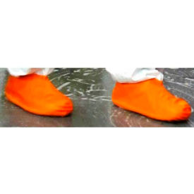 heavy duty latex boot/shoe covers, orange, xl, 100 pairs/case Heavy Duty Latex Boot/Shoe Covers, Orange, XL, 100 Pairs/Case