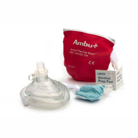 ambu cpr mask in red pouch, 10-517 Ambu CPR Mask in Red Pouch, 10-517