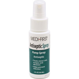 24402 Medi-First; Antiseptic Spray Pump Bottle, 2 Oz., 24402
