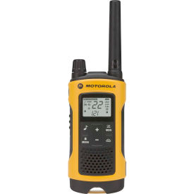T402 Motorola Talkabout; T402 Two-Way Radios, Yellow/Black - 2 Pack