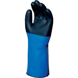 "338608 MAPA; Temp-Tec; NL517 17"" Neoprene Coated Gloves, Heavy Weight, 1 Pair, Size 8, 338608"