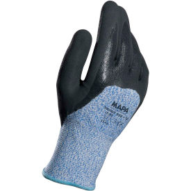 582419 MAPA;582 Krynit Grip & Proof 582 Nitrile 3/4 Coated HDPE Gloves, Cut Level A4, 1 Pair, Size 9