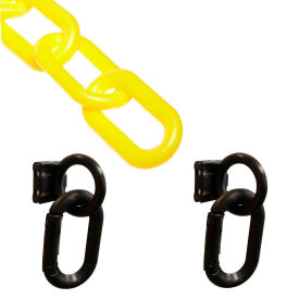 72302 Loading Dock Kit with Plastic Chain, Black/Yellow