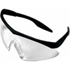 10021259 Straight Temple Clear Safety Glasses, Safety Works 10021259