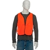 818040 Hi-Vis Safety Vest Orange, One Size Fits All