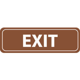 AS13 Architectural Sign - Exit