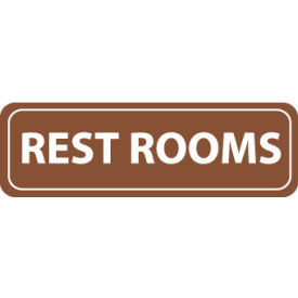 AS55 Architectural Sign - Rest Rooms