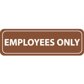 AS9 Architectural Sign - Employees Only