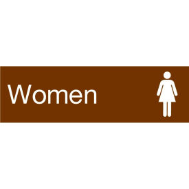 EN24BN Engraved Sign - Women - Brown