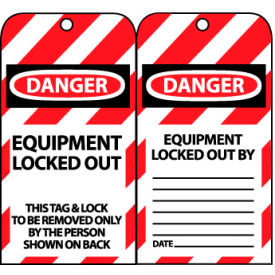 LOTAG17 Lockout Tags - Equipment Locked Out