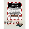 LOTO1 Lockout Tagout Safety Center with Lockout Supplies