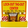 LOTO3 Lockout Tagout Center W/ Tags & Handbook