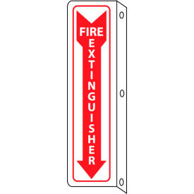 M23FR Fire Flange Sign - Fire Extinguisher