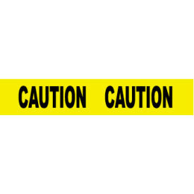 PT1-2ML Printed Barricade Tape - Caution Caution