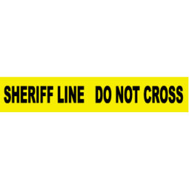printed barricade tape - sheriff line do not cross Printed Barricade Tape - Sheriff Line Do Not Cross