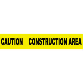printed barricade tape - caution construction area Printed Barricade Tape - Caution Construction Area
