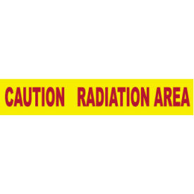 printed barricade tape - caution radiation area Printed Barricade Tape - Caution Radiation Area
