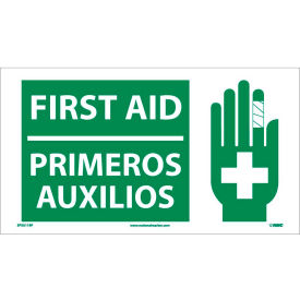 SPSA119P Bilingual Vinyl Sign - First Aid